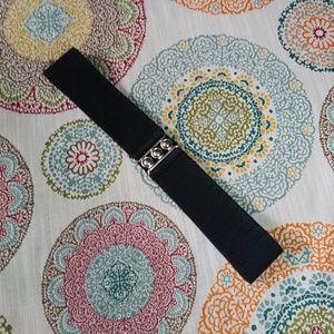 Malco Modes Black Cinch Waste Belt Size Medium